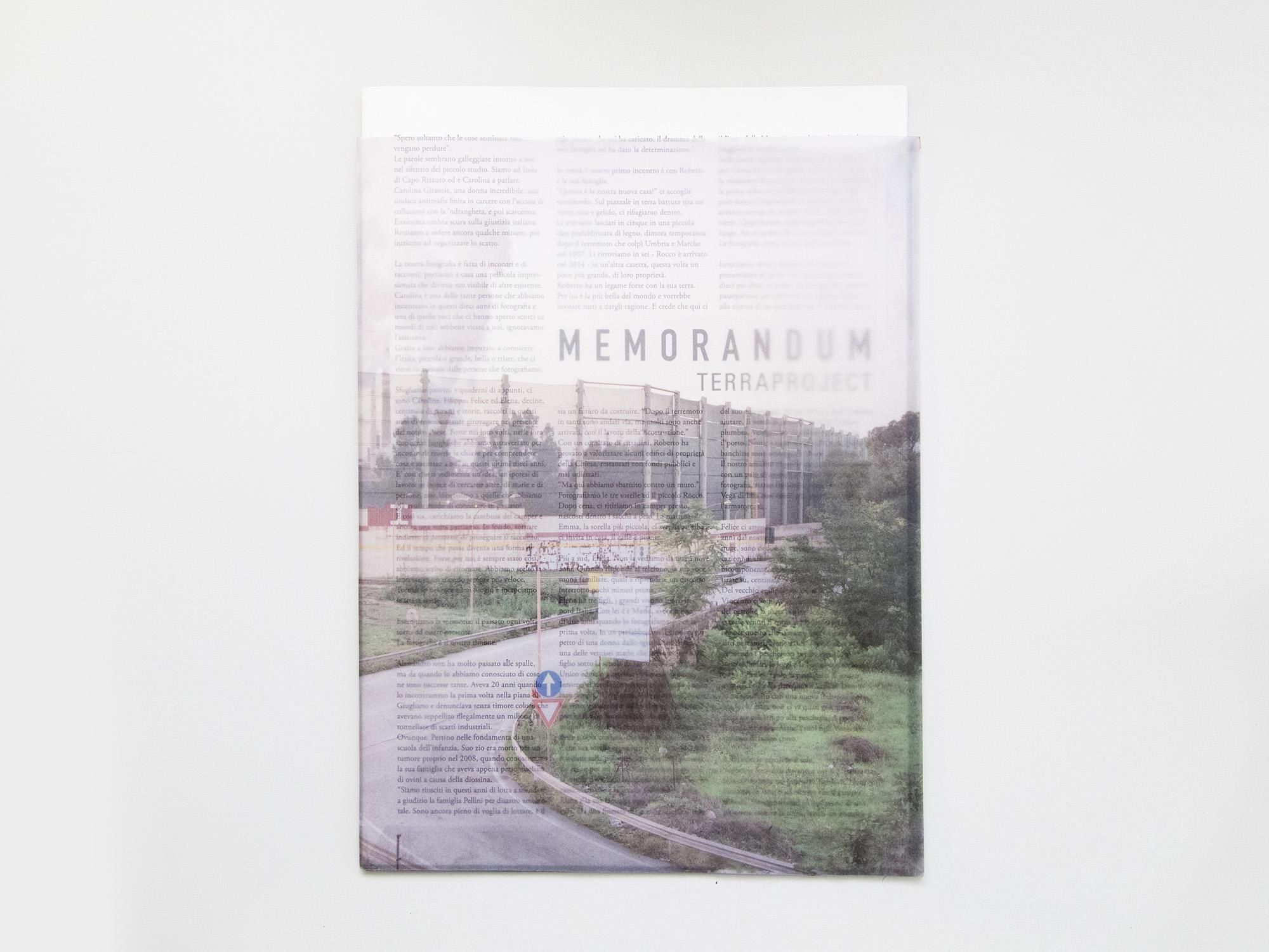 Memorandum © TerraProject
